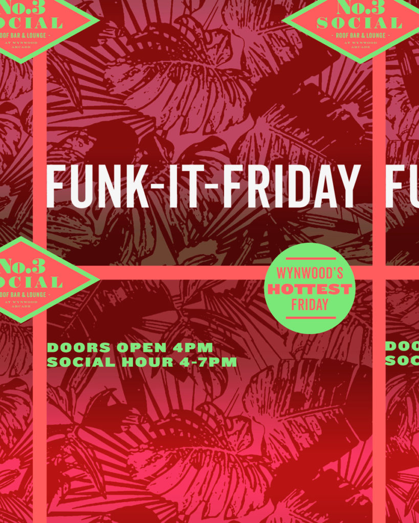 Funk it Friday flyer