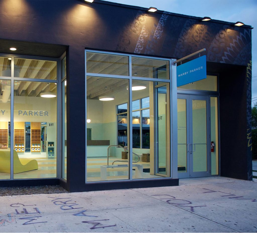 warby parker exterior