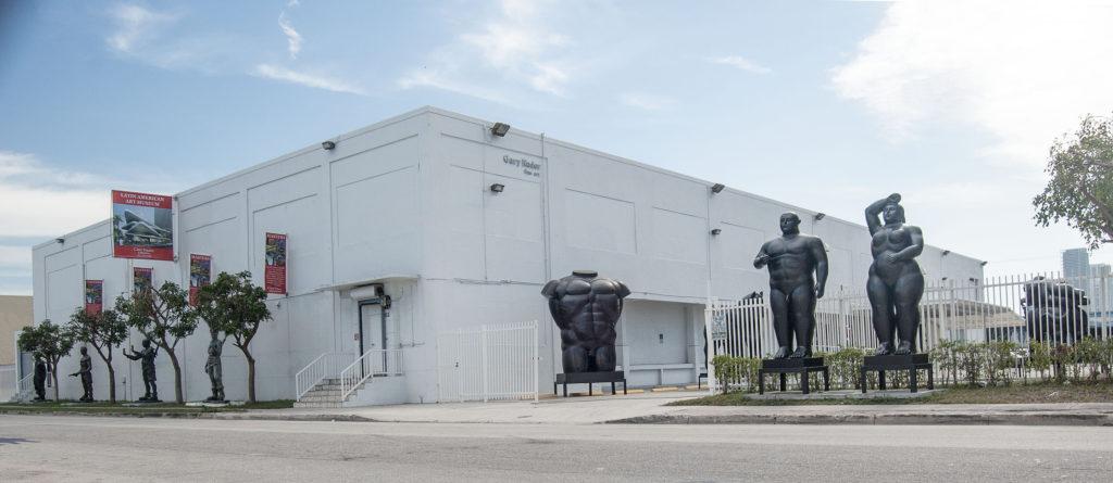 gary nader art museum exterior