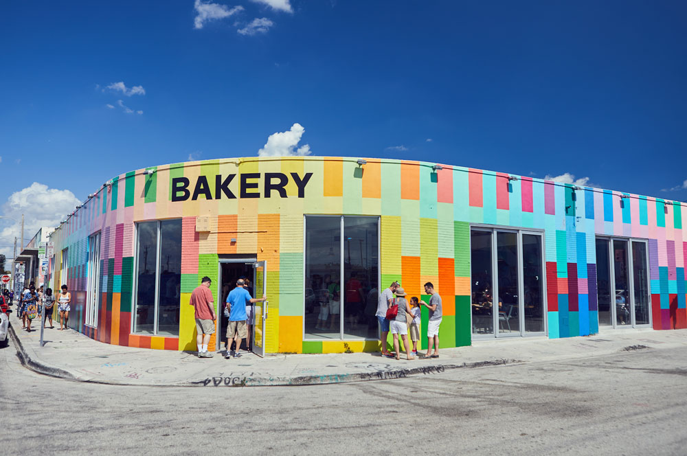 bakery shop exterior