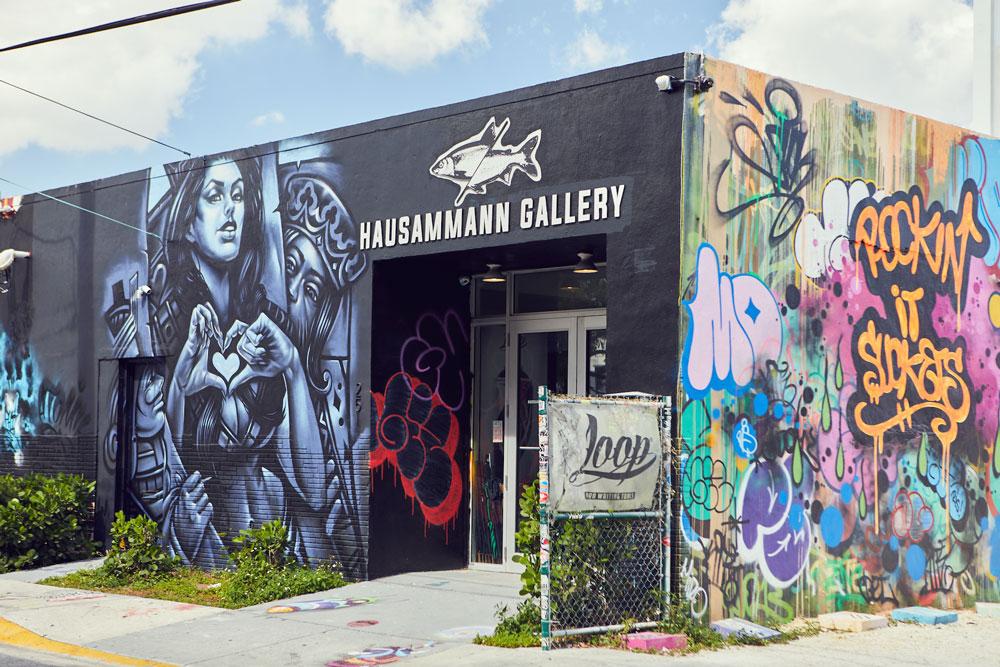 Hausammann gallery exterior