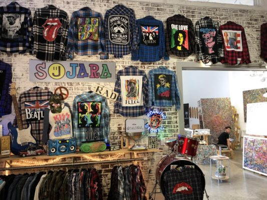 The Wynwood Shop is filled with artisan goods.