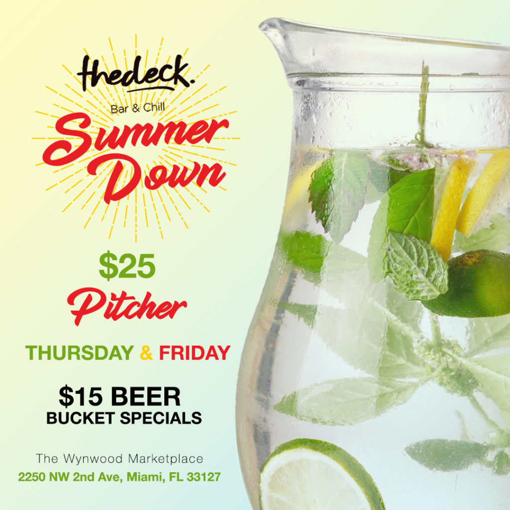 Summer Down at thedeck