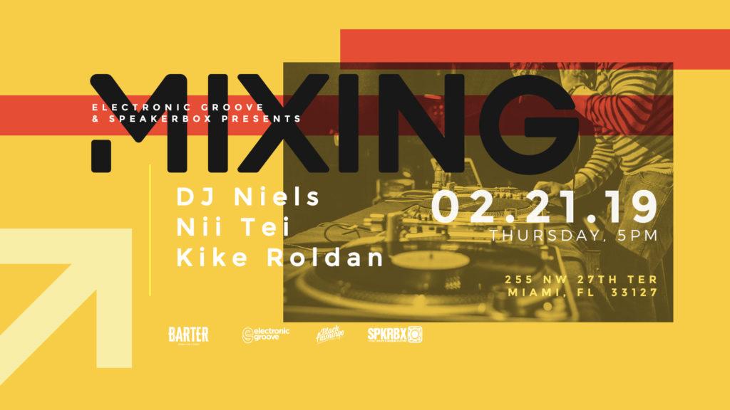 Mixing at Barter