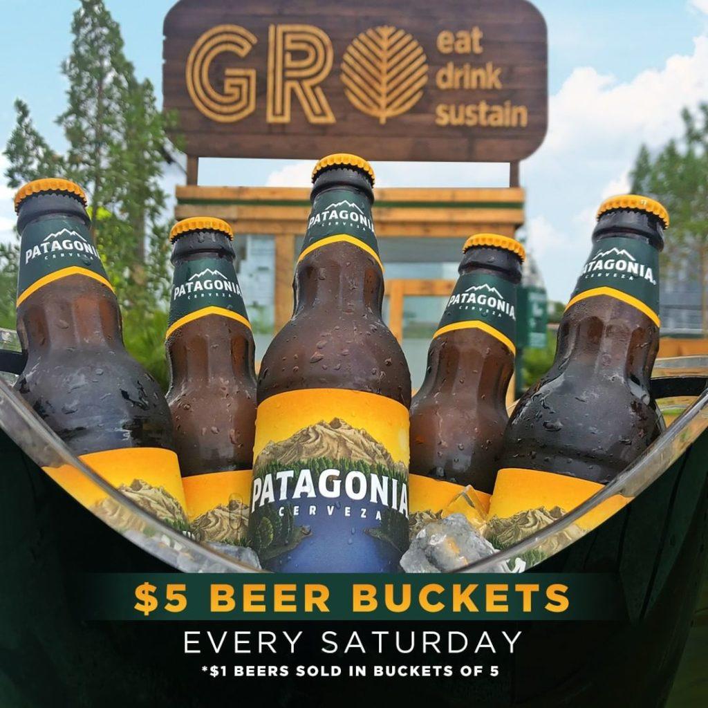 Saturdays at GROwynwood with $1 Beers