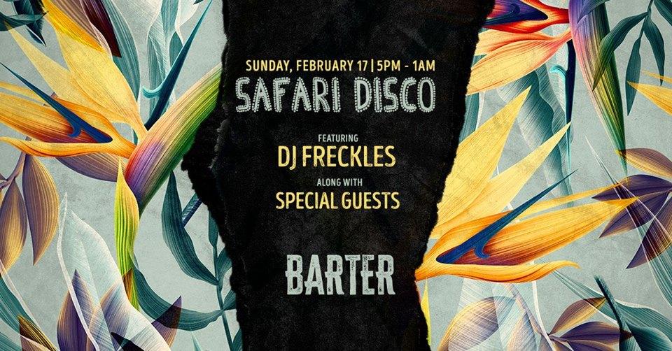 Safari Disco w/ DJ Freckles
