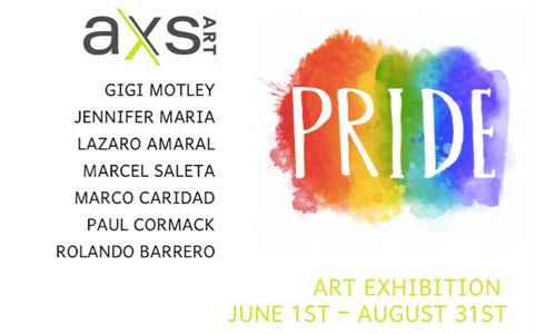 AXS Art Pride exhibition