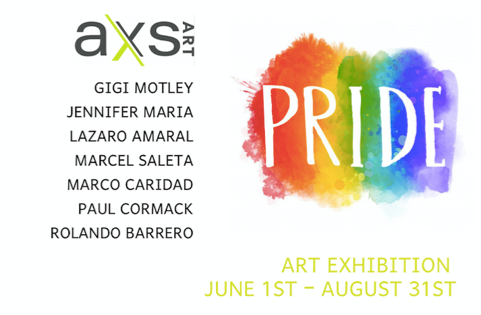 AXS Art Pride exhibition
