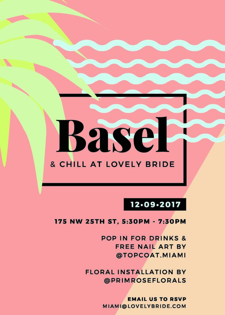 Art Week & Chill at Lovely Bride | Wynwood Business Improvement ...