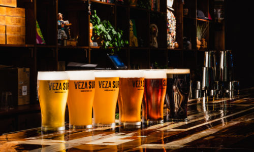 Veza Sur beer lineup