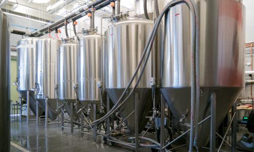 Inside of Veza Sur Brewing