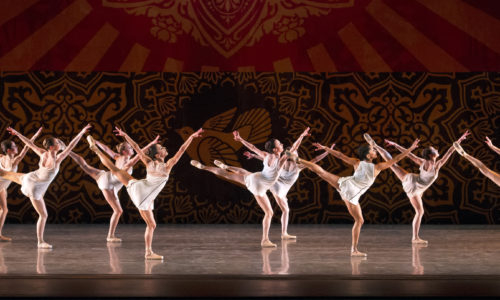 Miami City Ballet dancers in Heatscape. Choreography by Justin Peck. Photo © Gene Schiavone.