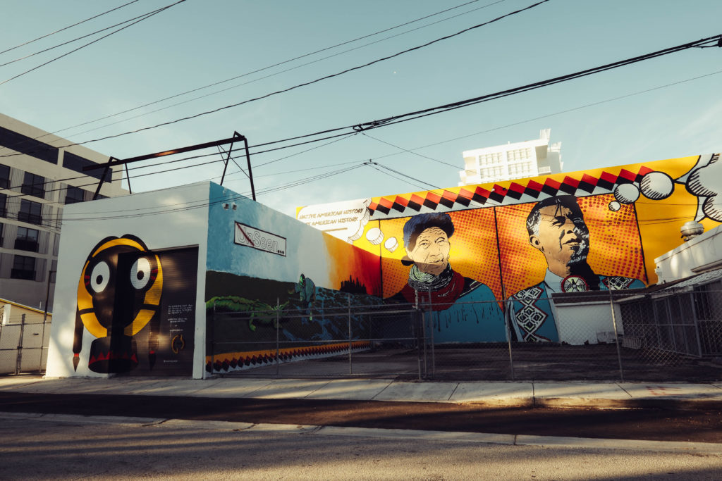 Bunky Echo-Hawk mural