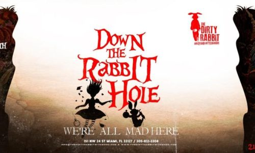 Down the Rabbit hole flyer