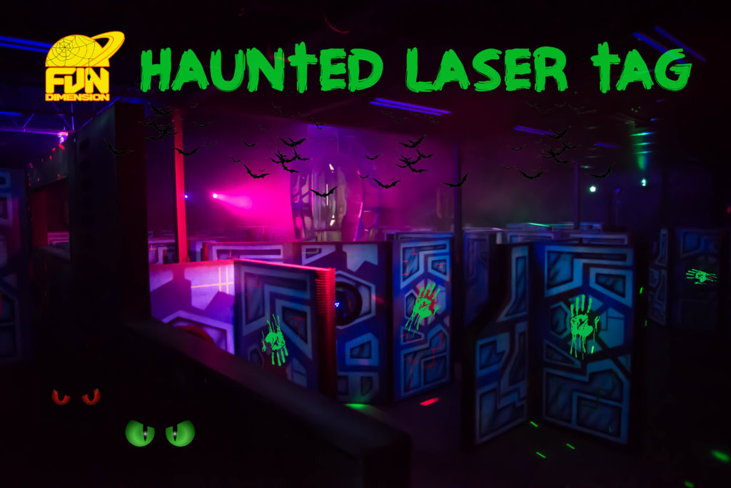 HAUNTED LASER TAG