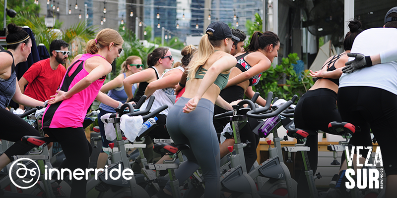 Innerride and Veza Sur spin a thon