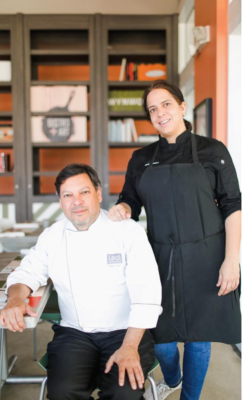 Chef Edgar Leal and Chef Mariana Montero serve up their own versions of comfort food.