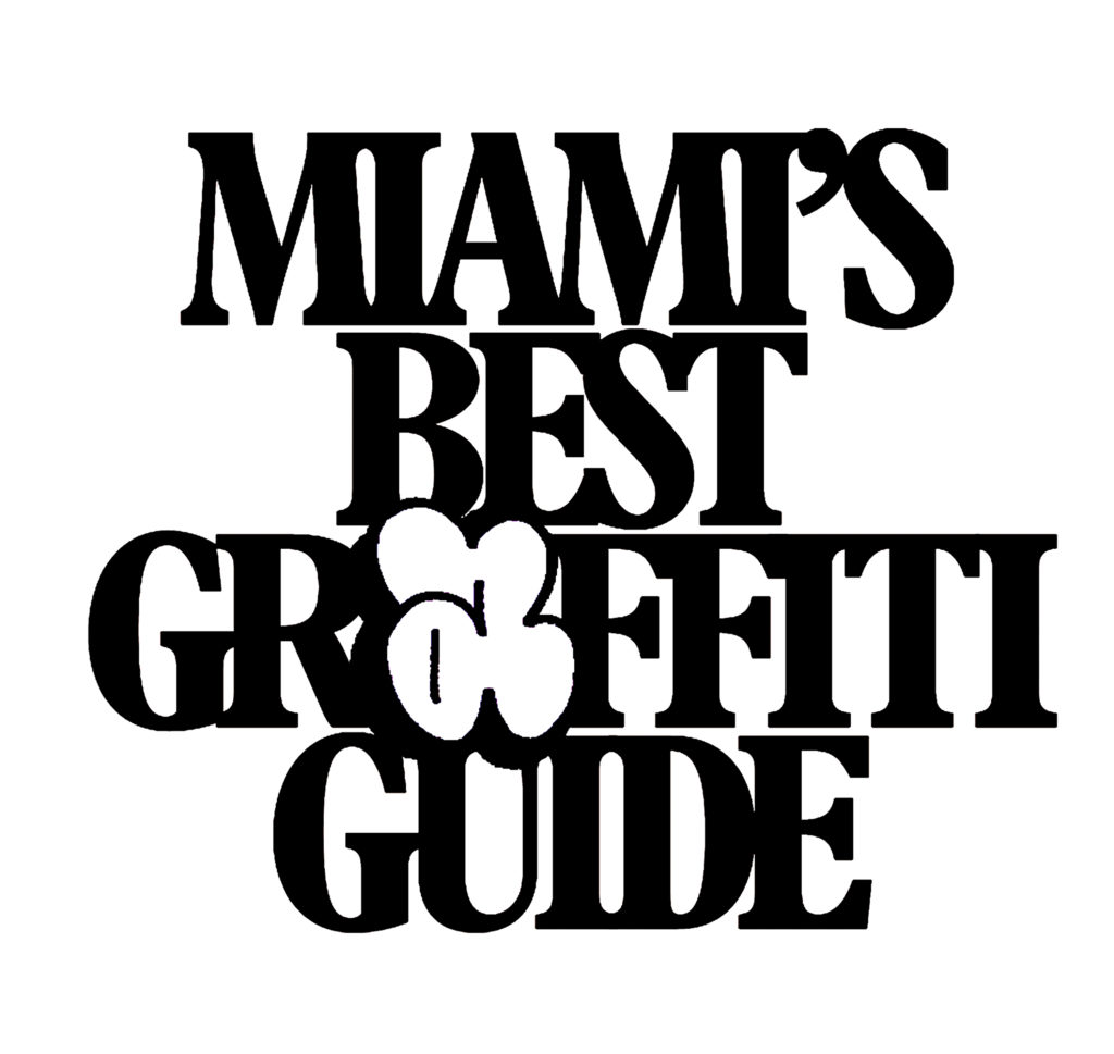 Miamis best graffiti guide logo