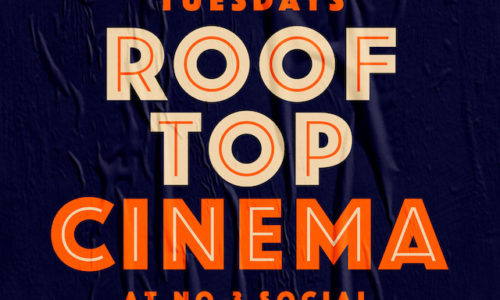 roof top cinema flyer