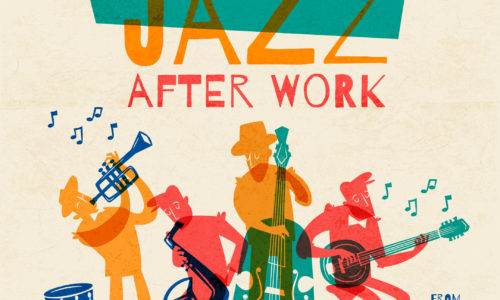Jazz after work flyer