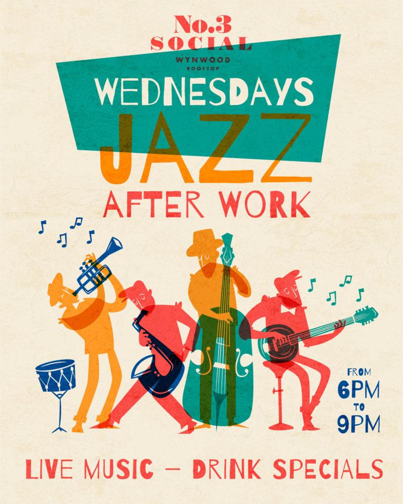 Jazz after work flyer
