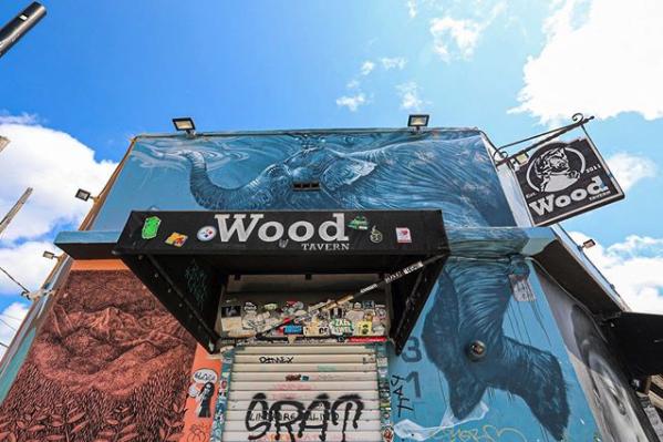 Wood exterior