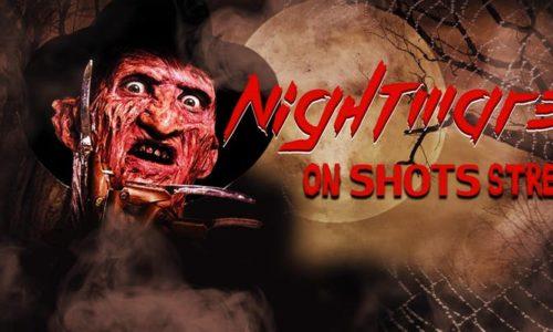 nightmare on shots street flyer