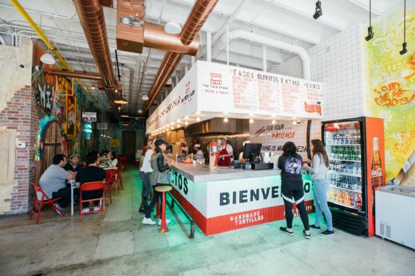 The Taco Stand interior