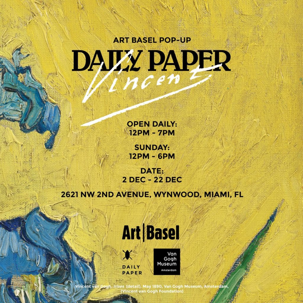 Daily Paper x Van Gogh Connects Pop-Up