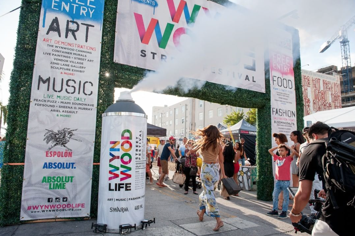 Wynwood Life festival entrance