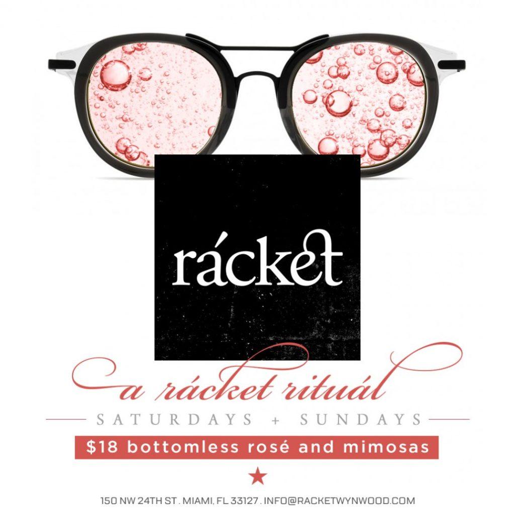 a rácket ritual: Bottomless Rosé & Mimosa