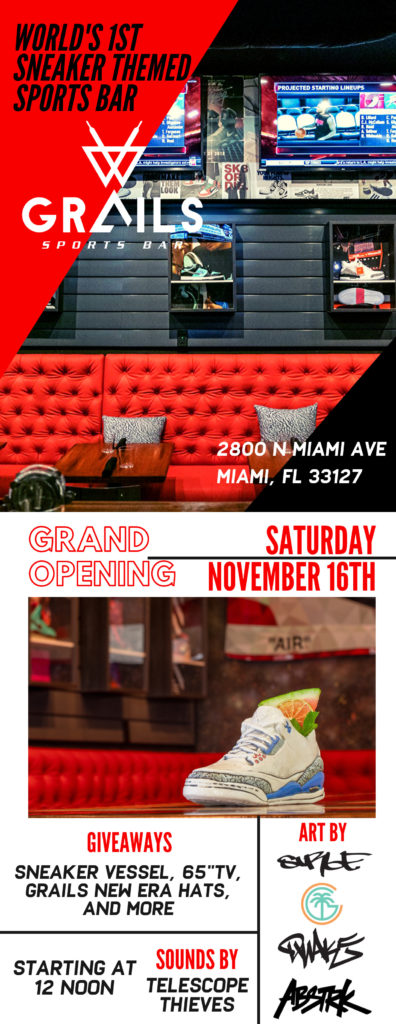 Grand Opening - Grails Sports Bar