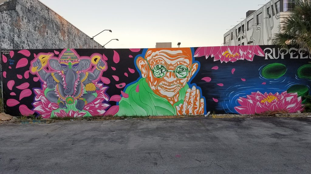 rupees sarees mural