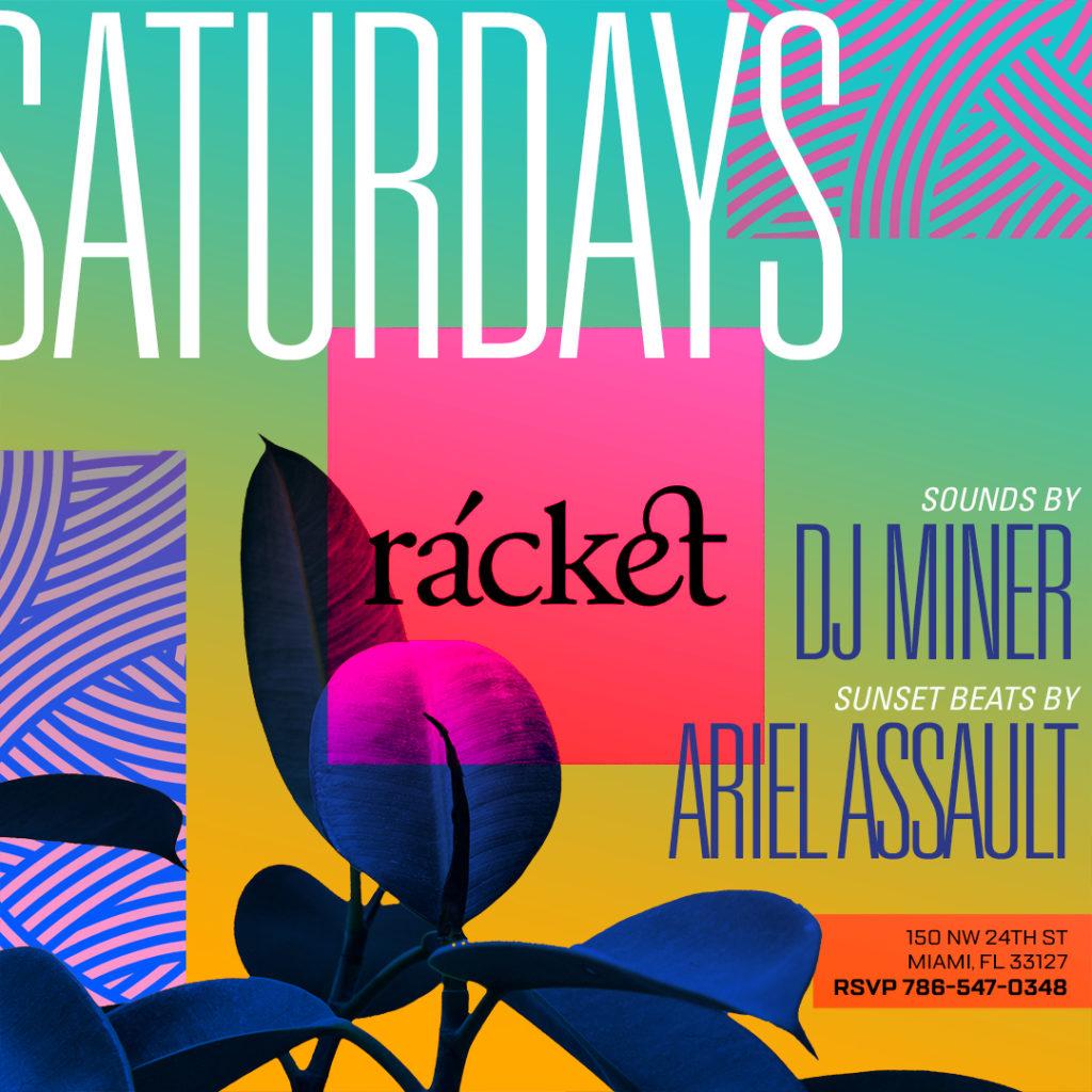Saturdays at racket