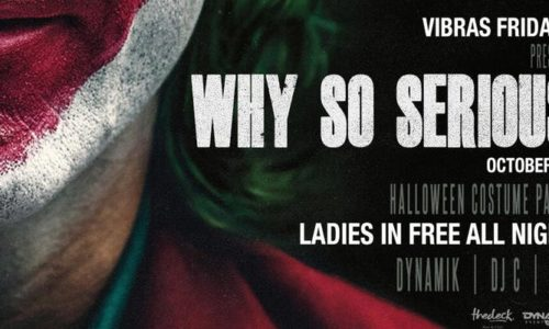 why so serious flyer