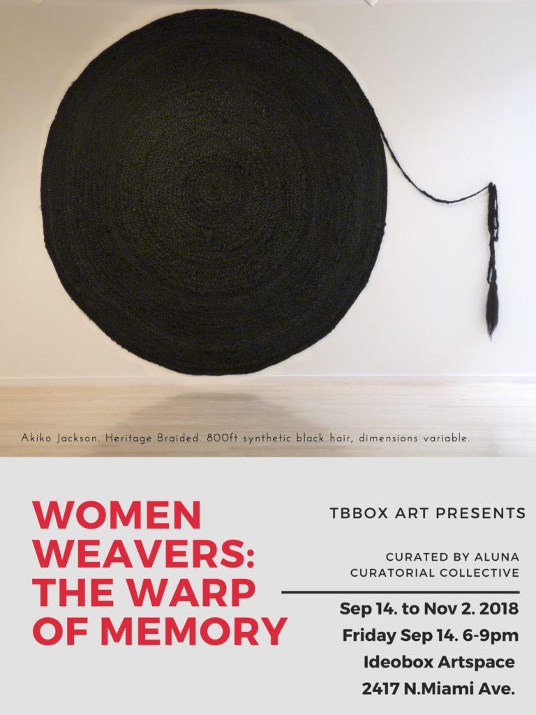 women weaver: the warp of memory flyer